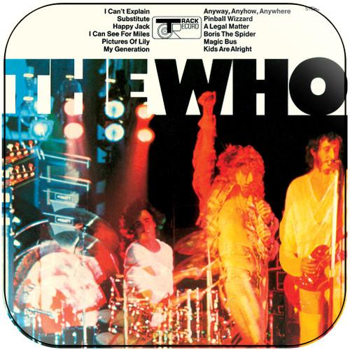 The Who The Who-2 Album Cover Sticker