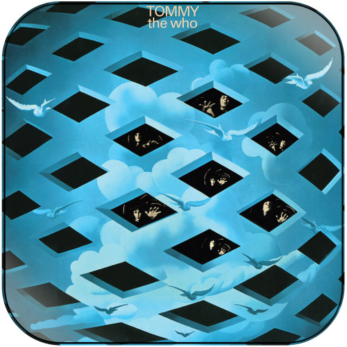 The Who Tommy-1 Album Cover Sticker