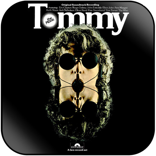 The Who Tommy-2 Album Cover Sticker