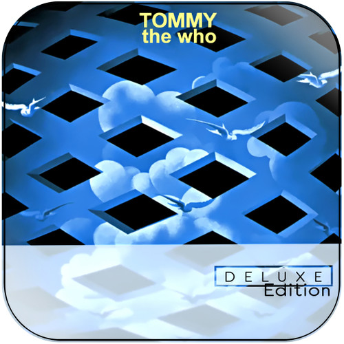 The Who Tommy-3 Album Cover Sticker