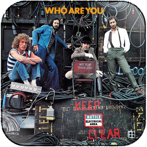 The Who Who Are You Album Cover Sticker