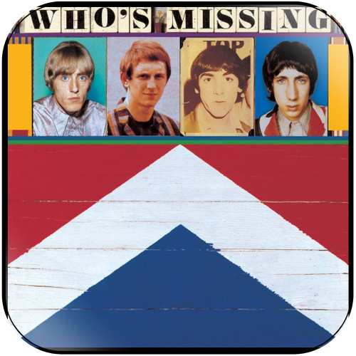The Who Whos Missing Album Cover Sticker