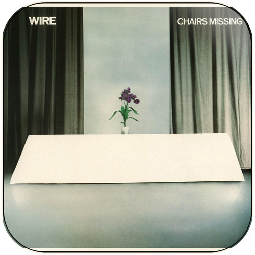 Wire Chairs Missing Album Cover Sticker