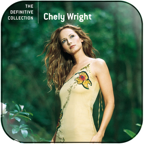 Chely Wright The Definitive Collection Album Cover Sticker