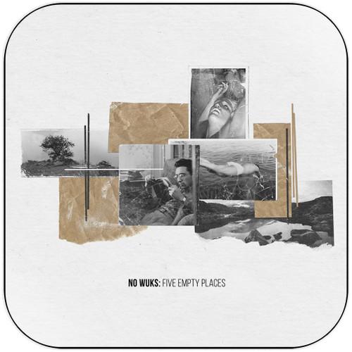 No Wuks - Five Empty Places Album Cover Sticker