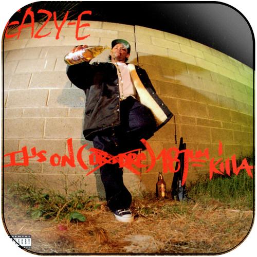 Eazy-E It's On (Dr. Dre) 187um Killa Album Cover Sticker