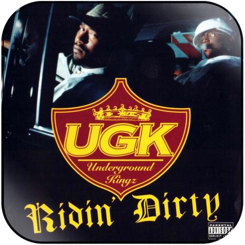 UKG Ridin Dirty Album Cover Sticker