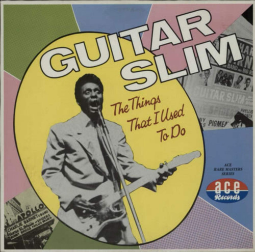 Guitar Slim The Things I Used To Do Album Cover Sticker