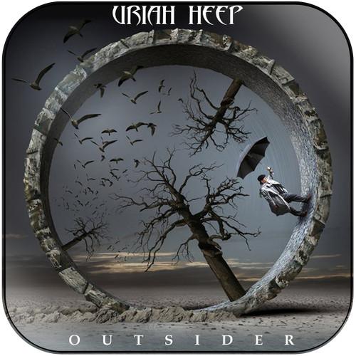 Uriah Heap Outsider Album Cover Sticker