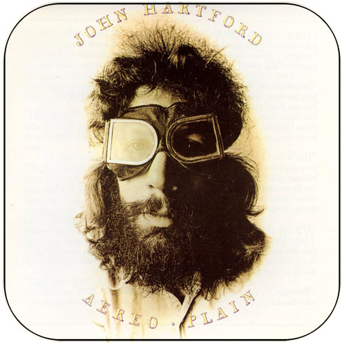 John Hartford Aereo Plain Album Cover Sticker