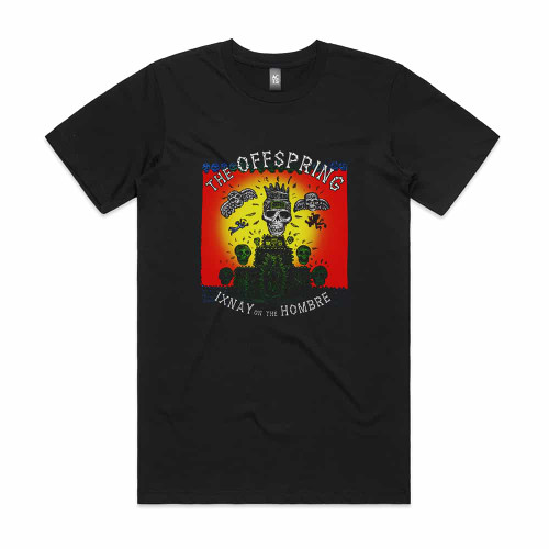 The Offspring Ixnay On The Hombre Ep Lp Album Cover T-Shirt Black