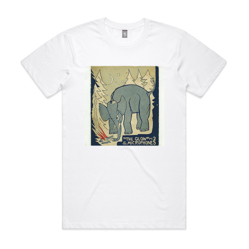 The Microphones The Glow Pt 2 Album Cover T-Shirt White