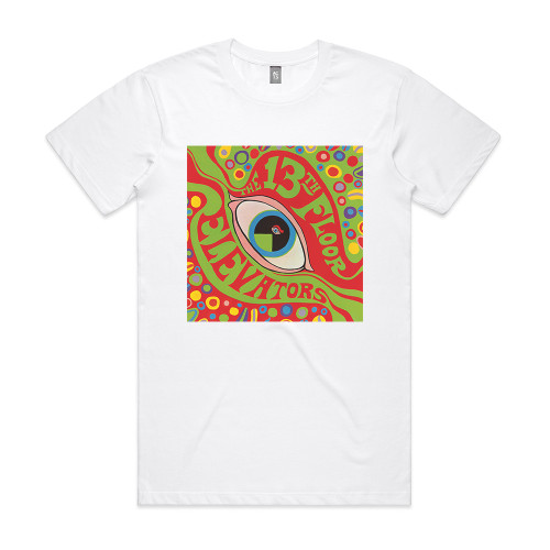 The Psychedelic Sounds Of The 13Th Floor Elevators Ep Album Cover Sticker Album Cover T-Shirt White