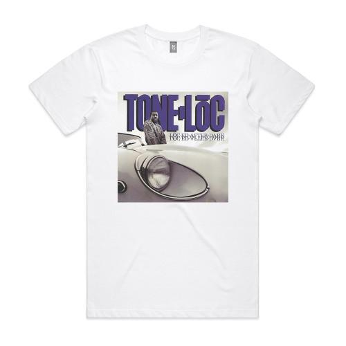 Tone Loc Loc Ed After Dark Album Cover T-Shirt White