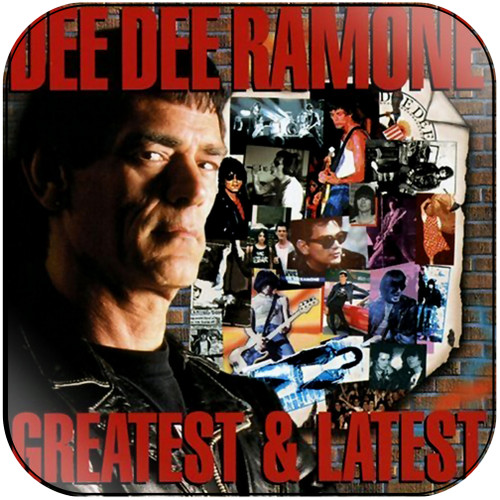 Dee Dee Ramone greatest latest Album Cover Sticker Album Cover Sticker