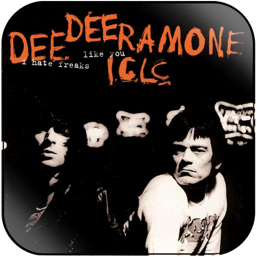 Dee Dee Ramone i hate freaks like you Album Cover Sticker Album Cover Sticker