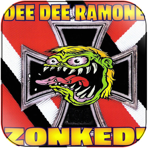 Dee Dee Ramone zonked Album Cover Sticker Album Cover Sticker