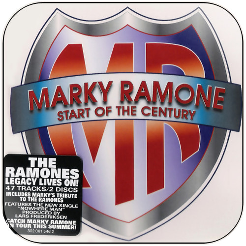 Marky Ramone start of the century Album Cover Sticker Album Cover Sticker