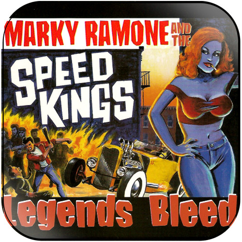 Marky Ramone and the Speed Kings legends bleed Album Cover Sticker Album Cover Sticker