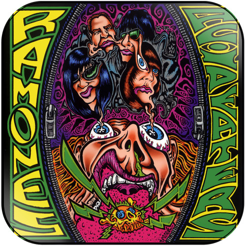 Ramones acid eaters Album Cover Sticker Album Cover Sticker