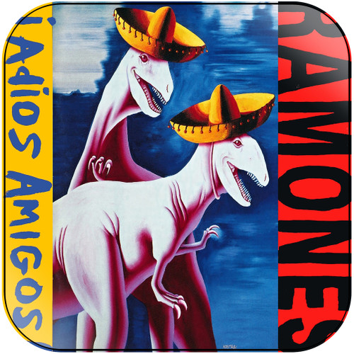 Ramones adios amigos Album Cover Sticker Album Cover Sticker
