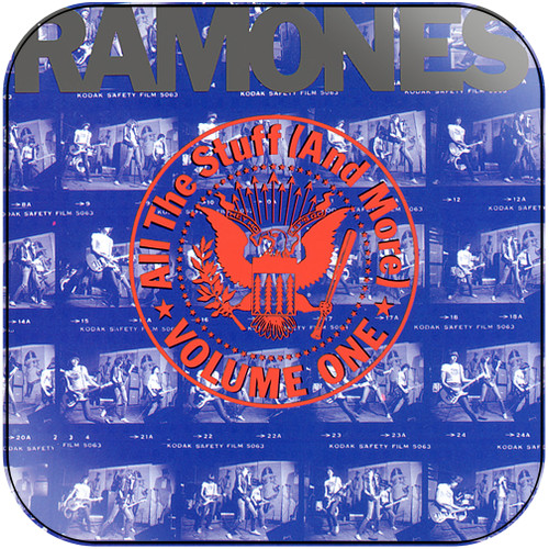 Ramones all the stuff and more volume 1 Album Cover Sticker Album Cover Sticker