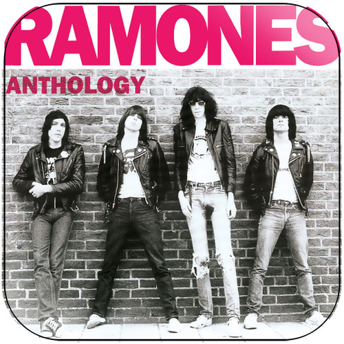 Ramones anthology hey ho lets go Album Cover Sticker Album Cover Sticker