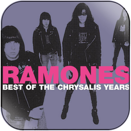 Ramones best of the chrysalis years Album Cover Sticker Album Cover Sticker