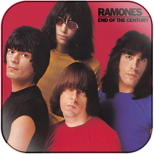 Ramones end of the century-1 Album Cover Sticker Album Cover Sticker