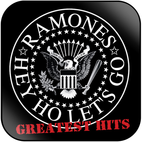 Ramones greatest hits Album Cover Sticker Album Cover Sticker