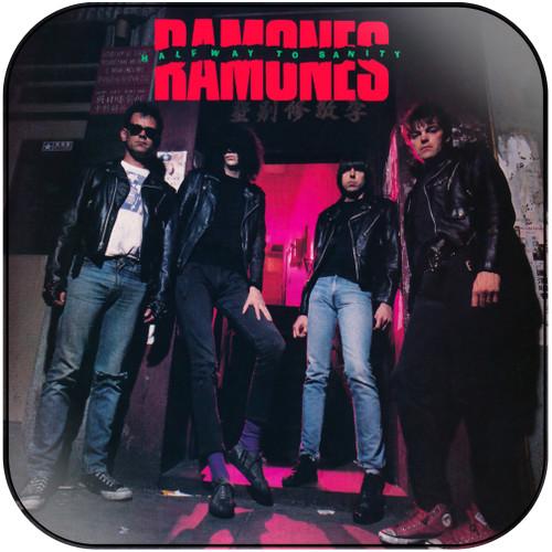 Ramones halfway to sanity Album Cover Sticker Album Cover Sticker