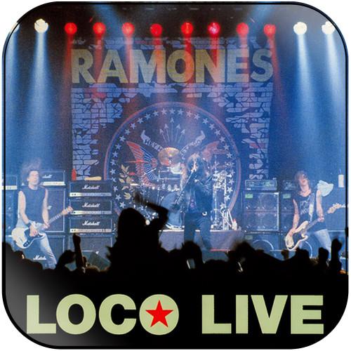 Ramones loco live-1 Album Cover Sticker Album Cover Sticker