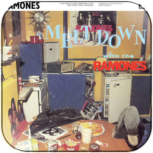 Ramones meltdown with the ramones Album Cover Sticker Album Cover Sticker