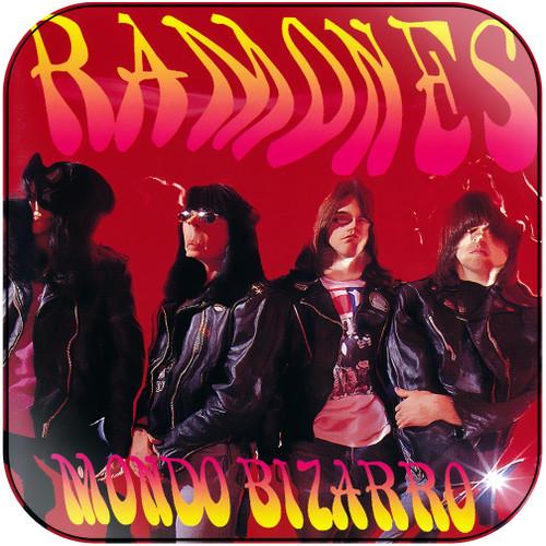 Ramones mondo bizarro Album Cover Sticker Album Cover Sticker
