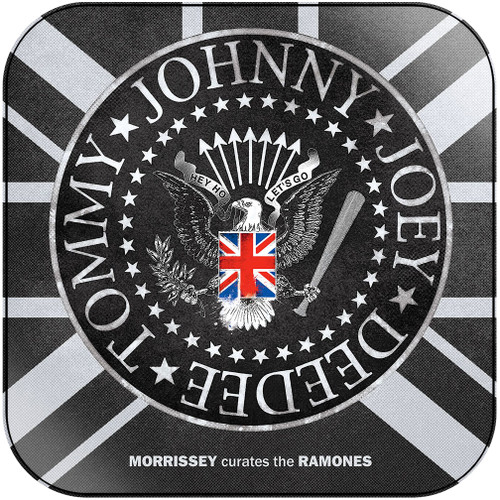 Ramones morrissey curates the ramones Album Cover Sticker Album Cover Sticker