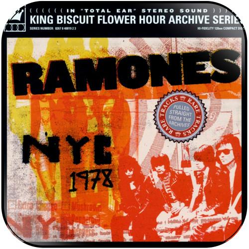Ramones nyc 1978 Album Cover Sticker Album Cover Sticker