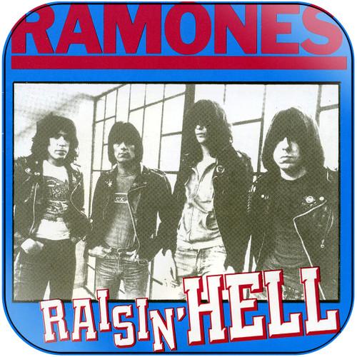 Ramones raisin hell Album Cover Sticker Album Cover Sticker
