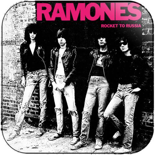 Ramones rocket to russia Album Cover Sticker Album Cover Sticker