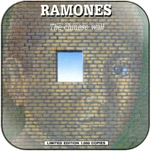 Ramones the chinese wall Album Cover Sticker Album Cover Sticker