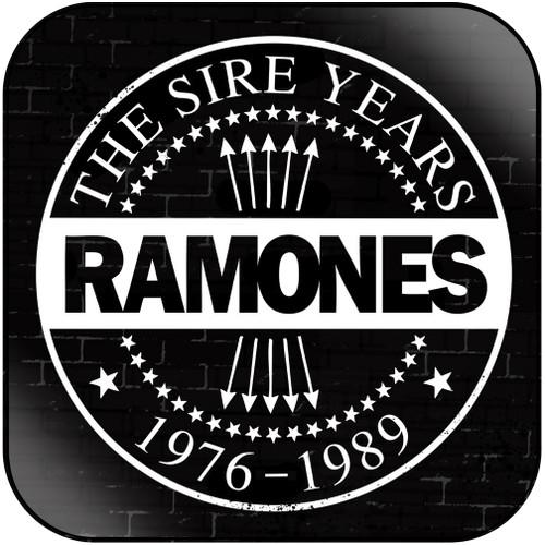 Ramones the sire years 1976  1989 Album Cover Sticker Album Cover Sticker