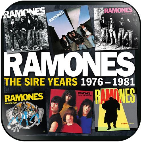 Ramones the sire years 1976 1981 Album Cover Sticker Album Cover Sticker