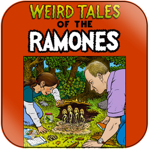 Ramones weird tales of the ramones Album Cover Sticker Album Cover Sticker