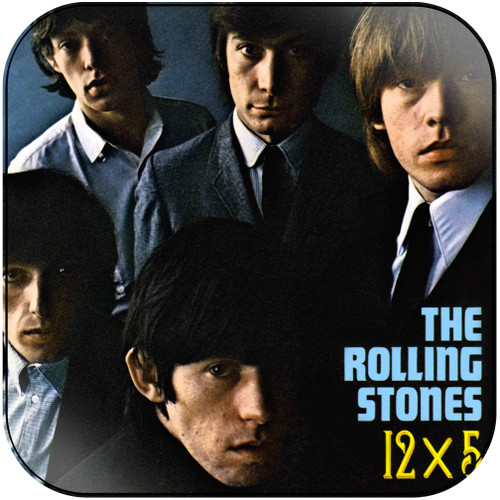The Rolling Stones 12 x 5-1 Album Cover Sticker Album Cover Sticker