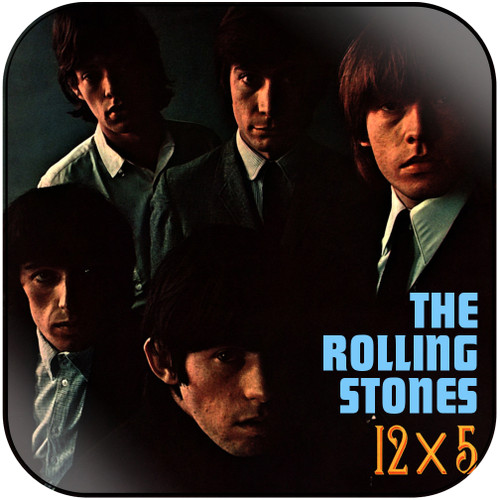 The Rolling Stones 12 x 5-2 Album Cover Sticker Album Cover Sticker