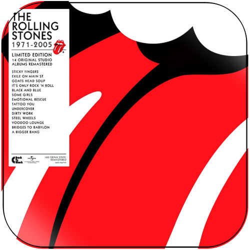 The Rolling Stones 1971 2005 Album Cover Sticker Album Cover Sticker