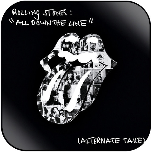 The Rolling Stones all down the line alternate take Album Cover Sticker Album Cover Sticker