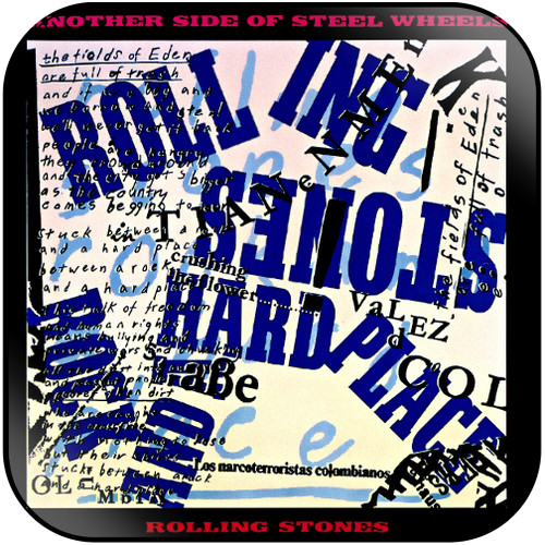 The Rolling Stones another side of steel wheels Album Cover Sticker Album Cover Sticker