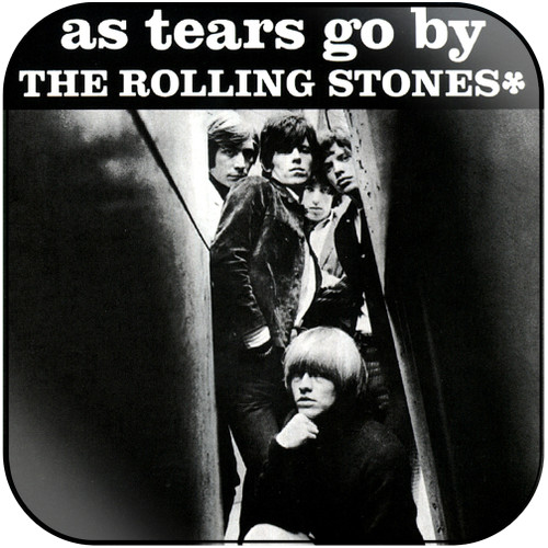 The Rolling Stones as tears go by gotta get away Album Cover Sticker Album Cover Sticker