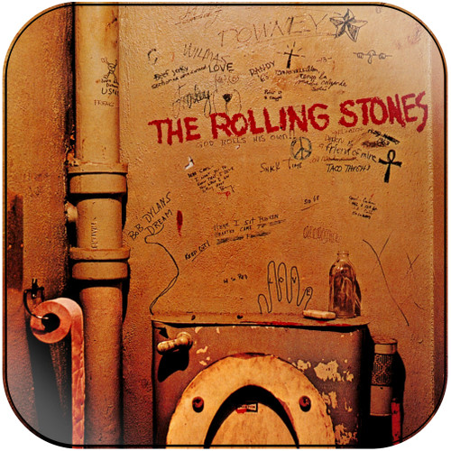 The Rolling Stones beggars banquet-1 Album Cover Sticker Album Cover Sticker