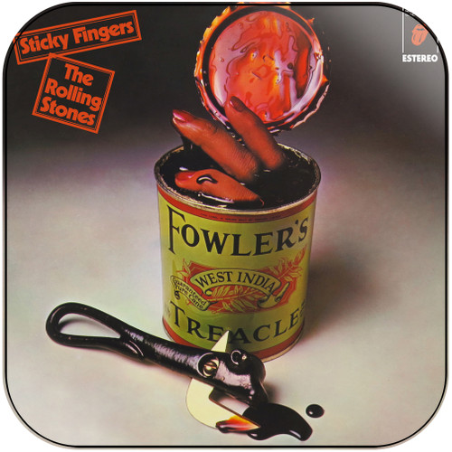 The Rolling Stones sticky fingers-2 Album Cover Sticker Album Cover Sticker